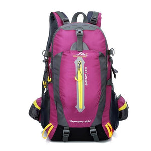 Climbing Backpack Rucksack 40L Outdoor Sports Bag Travel Backpack Camping Bikewest.com Rose 40L 30 - 40L China