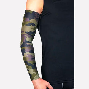 Compression Sports Arm Sleeve Basketball Cycling Arm Bikewest.com Camouflage M