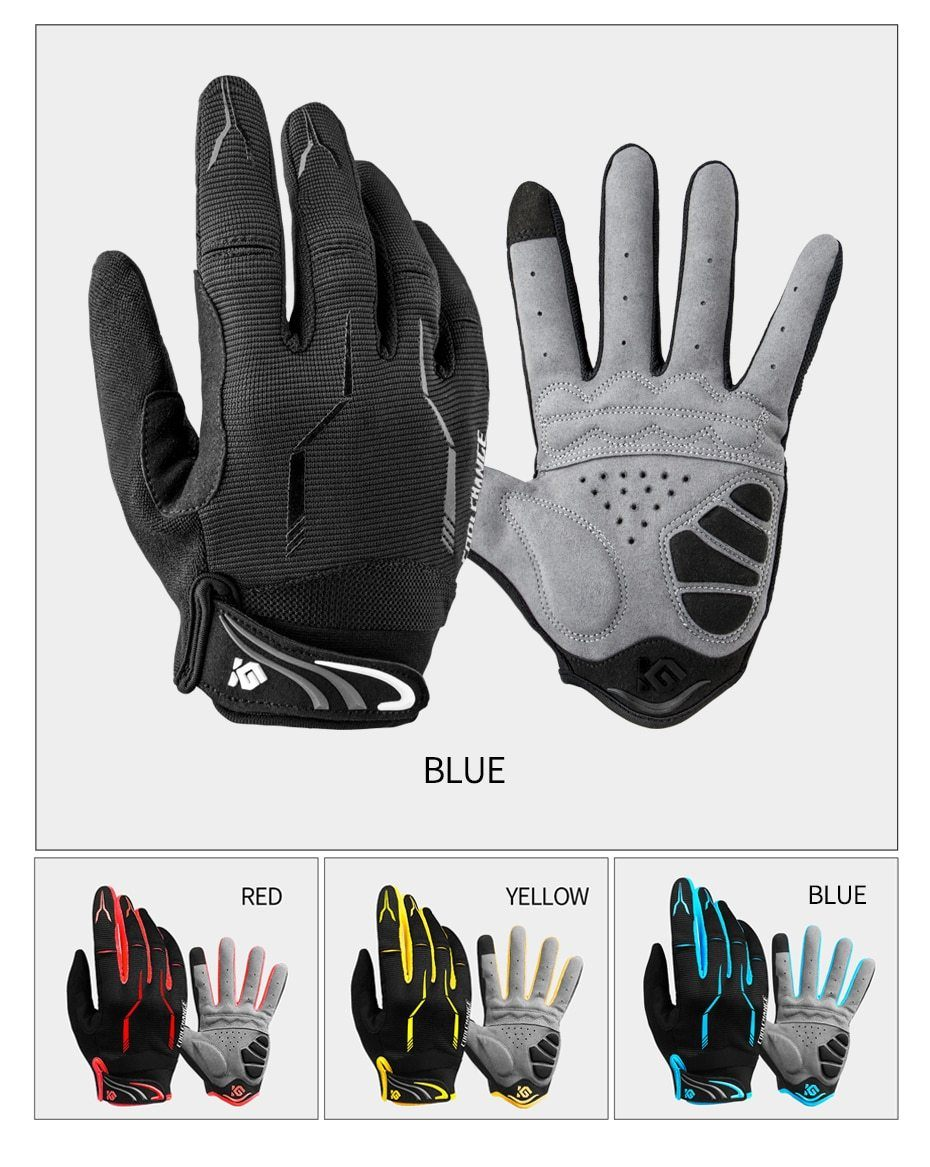 Coolchange Bike Glove Full Finger Cycling Gloves Bikewest.com