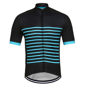Crossrider Classic Mens Short Sleeve Cycling Jersey Bikewest.com Black S