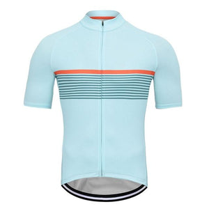 Crossrider Classic Mens Short Sleeve Cycling Jersey Bikewest.com Multi L