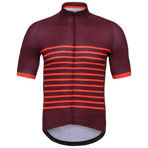 Crossrider Classic Mens Short Sleeve Cycling Jersey Bikewest.com Red XXS