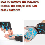 Load image into Gallery viewer, Cycling Anti-slip Anti-sweat Men Women Half Finger Gloves Bikewest.com