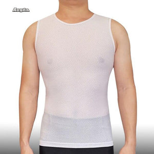 Cycling Base Layer Quick Dry Cool Mesh Bikewest.com White S