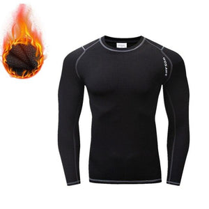 Cycling Base Layers Bodybuilding Fitness Long Sleeve Tight Bikewest.com BC288-B XXL