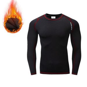 Cycling Base Layers Bodybuilding Fitness Long Sleeve Tight Bikewest.com BC288-R S