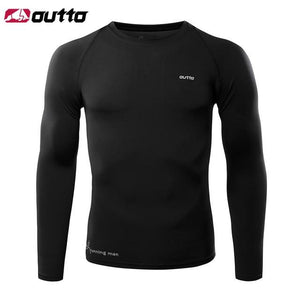 Cycling Base Layers Long Sleeves Compression Bikewest.com Black L