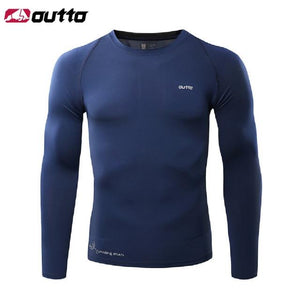 Cycling Base Layers Long Sleeves Compression Bikewest.com Dark Blue L