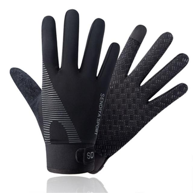 Cycling Breathable Non-Slip Touch Screen Gloves Bikewest.com Black XL China
