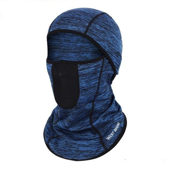 Cycling Cap Breathable Sun Protection Balaclava Mask Bikewest.com Breathable Blue