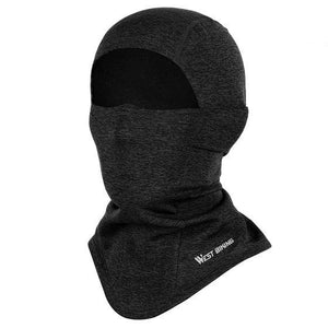 Cycling Cap Breathable Sun Protection Balaclava Mask Bikewest.com Face Mask Black