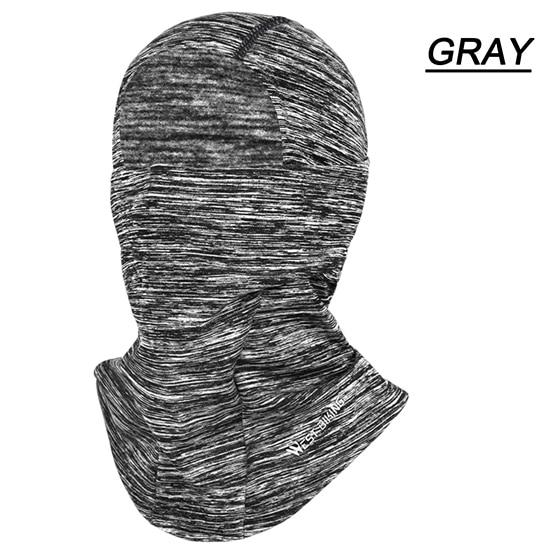 Cycling Cap Breathable Sun Protection Balaclava Mask Bikewest.com Face Mask Gray