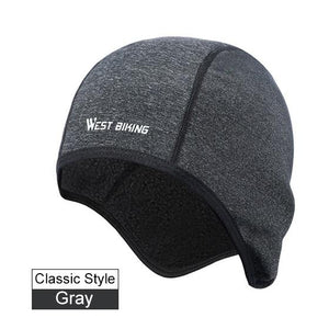 Cycling Caps Winter Warm Fleece Hats Bikewest.com Classic Gray China