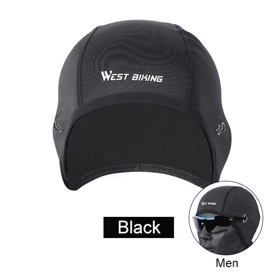 Cycling Caps Winter Warm Fleece Hats Bikewest.com Men Black China