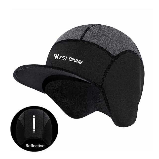 Cycling Caps Winter Warm Fleece Hats Bikewest.com Reflective Caps Russian Federation