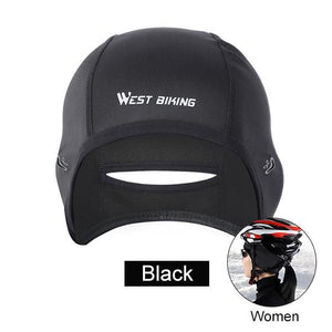 Cycling Caps Winter Warm Fleece Hats Bikewest.com Women Black China