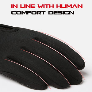 Cycling Gloves Bicycle Warm Touchscreen Full Finger Gloves Bikewest.com