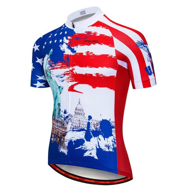 Cycling Jersey Men Bicycle Tops Bikewest.com 14 4XL