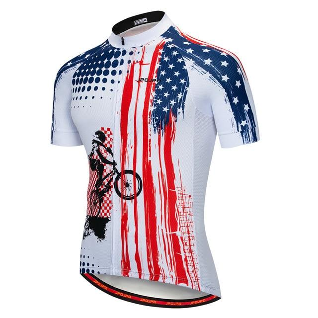 Cycling Jersey Men Bicycle Tops Bikewest.com 17 4XL