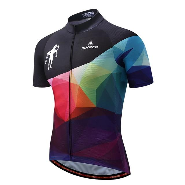 Cycling Jersey Men Bicycle Tops Bikewest.com 4 4XL