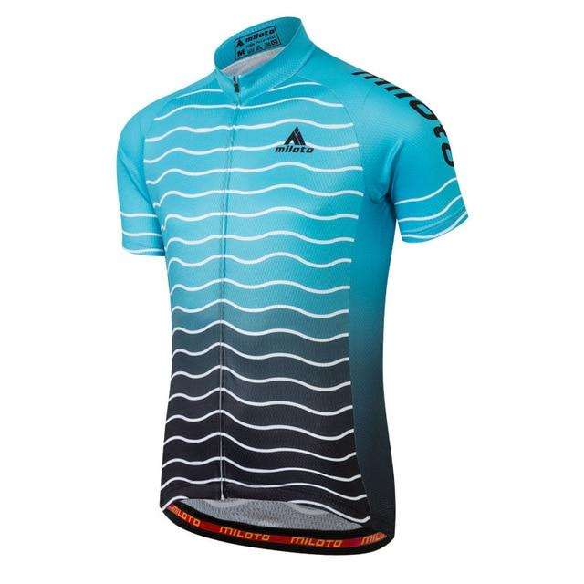 Cycling Jersey Men Bicycle Tops Bikewest.com 7 4XL