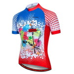 Load image into Gallery viewer, Cycling Jersey Men Mountain Bike Clothing Bikewest.com Color 5 5XL