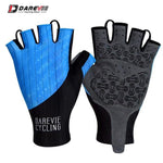 Load image into Gallery viewer, Darevie Cycling Gloves Pro Light Soft Breathable Cool Dry Half Finger Cycling Bikewest.com Blue S