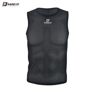 Darevie Cycling Vest Seamless High Quality Breathable Bikewest.com black XXXL