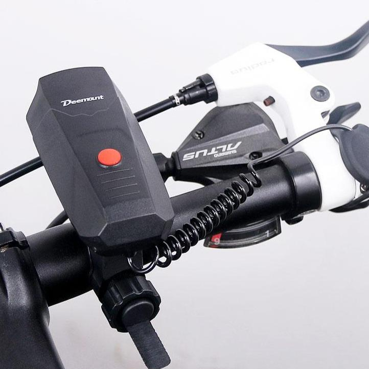 Electric Loud MTB Bicycle Air Horn Ring Road Bike Handlebar Bell Siren Cycling Air Alarm Alert 120db Noise 5 Sounds Bikewest.com