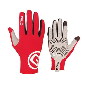 GIYO Touch Screen Long Full Fingers Gel Sports Cycling Gloves Bikewest.com Red XL