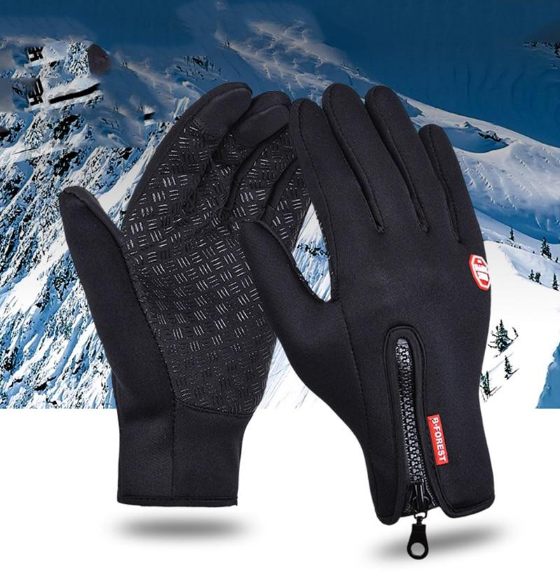 Gloves Anti Slip Windproof Thermal Warm Touchscreen Bikewest.com