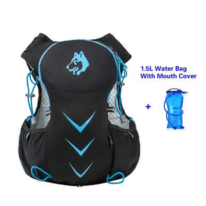 Jungle King 5L Marathon Hydration Vest Pack for 1.5L Water Bag Bikewest.com Blue Water Bag