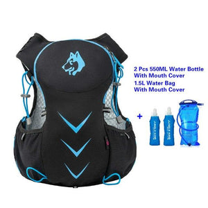 Jungle King 5L Marathon Hydration Vest Pack for 1.5L Water Bag Bikewest.com BlueWater Bag 550ML