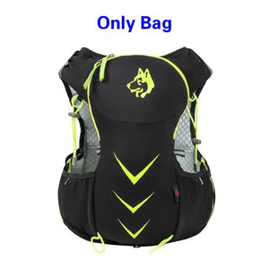 Jungle King 5L Marathon Hydration Vest Pack for 1.5L Water Bag Bikewest.com Green Only Bag