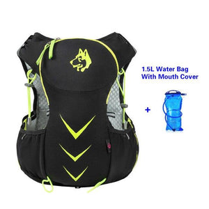 Jungle King 5L Marathon Hydration Vest Pack for 1.5L Water Bag Bikewest.com Green Water Bag