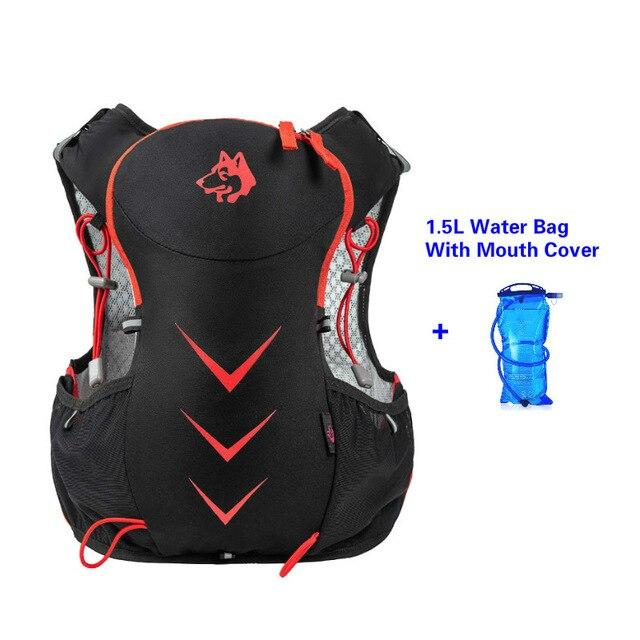 Jungle King 5L Marathon Hydration Vest Pack for 1.5L Water Bag Bikewest.com Red Water Bag