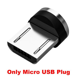 Magnetic USB Cable Fast Charging Type C Bikewest.com China Only Micro Plug 1m
