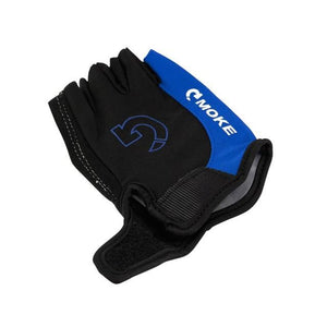 Men Cycling Gloves Bicycle Sports Half Finger Gloves Bikewest.com Blue L China