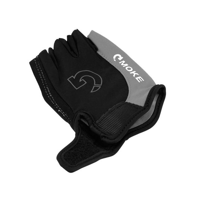 Men Cycling Gloves Bicycle Sports Half Finger Gloves Bikewest.com Gray L China