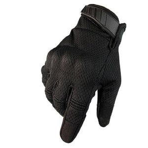 Men Riding Gloves Cycling Bike Full Finger Bikewest.com Black S
