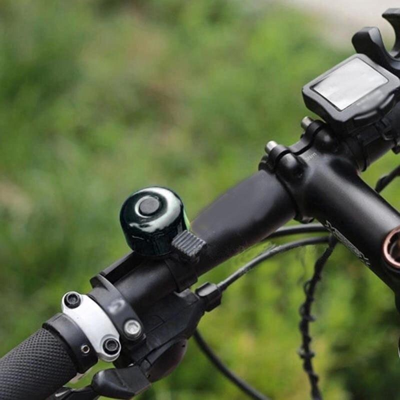 Mountain Bicycle Cycle Black Aluminum Traditional Style Button Flick Ping Bell Outdoor Bike Accessories Campana De Coche Bikewest.com
