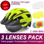 Load image into Gallery viewer, Mountain Road Bike Helmet With Sun Visor Goggles Bikewest.com Normal Model -3PCS 2