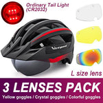 Load image into Gallery viewer, Mountain Road Bike Helmet With Sun Visor Goggles Bikewest.com Normal Model -3PCS