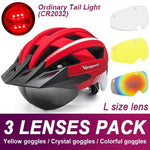 Load image into Gallery viewer, Mountain Road Bike Helmet With Sun Visor Goggles Bikewest.com Normal Model -3PCS 8