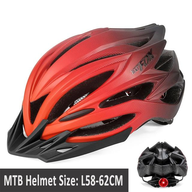 MTB Road Cycling Helmets Ultralight Bikewest.com 005-8261 2 l56-60CM