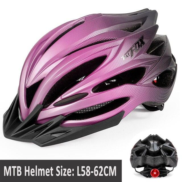 MTB Road Cycling Helmets Ultralight Bikewest.com 005-8261 4 l56-60CM
