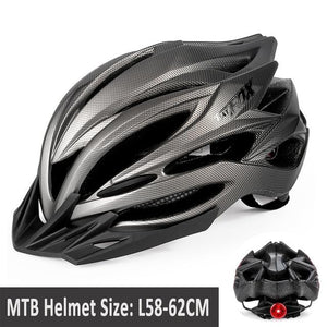 MTB Road Cycling Helmets Ultralight Bikewest.com 005-8261 l56-60CM