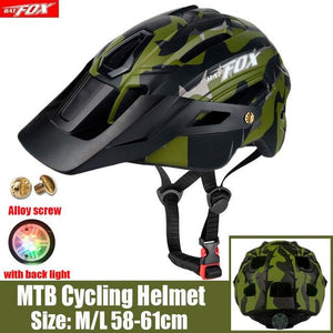 MTB Road Cycling Helmets Ultralight Bikewest.com 279-Army green l56-60CM