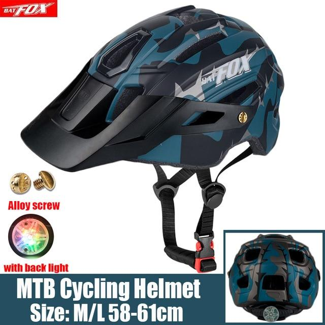 MTB Road Cycling Helmets Ultralight Bikewest.com 279-blue l56-60CM
