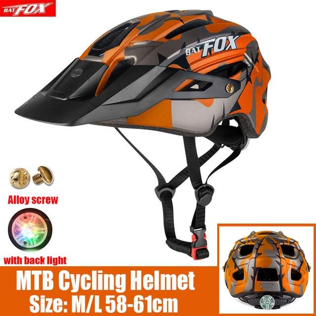 MTB Road Cycling Helmets Ultralight Bikewest.com 279-orange l56-60CM